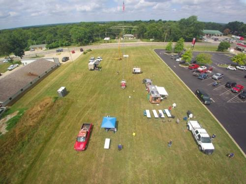 Field Day Drone Pic 2
