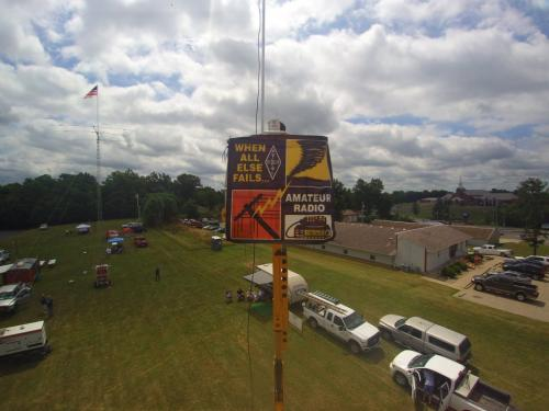 Field Day Drone Pic 5